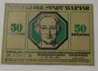 Německo 50 Pfennig nouzovka