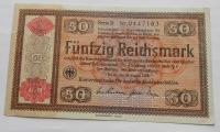 Německo 50RM 1934 Ro712 perforace ENTWERTET