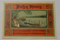 Německo Nouzovka 50 Pfennig