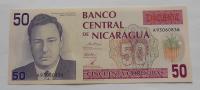 Nikaragua 50 Cordobes P. Chamarro 1990