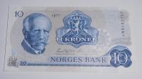 Norsko 10 Kroner 1977