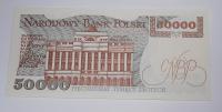 Polsko 50 000 Zlotý 1989