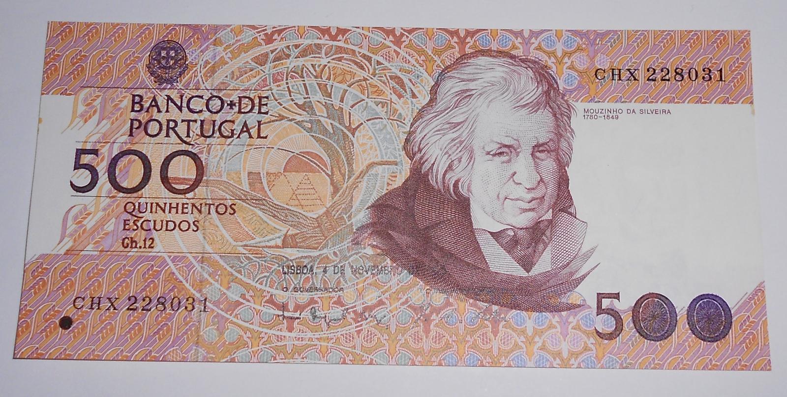 Portugalsko 500 Escudos