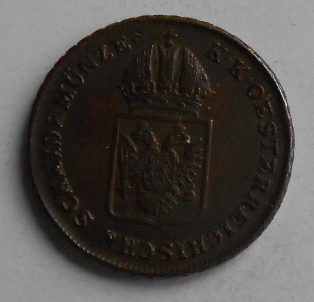 Rakousko 1 Krejcar 1816 A František II., stav