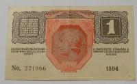 Rakousko 1 Krone 1916, razítko