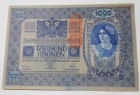Rakousko 1000 Koruna 1902 s-10630, razítko