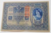 Rakousko 1000 Koruna 1902 s-58419, razítko