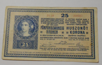 Rakousko 25 Kronen 1918 s-3118
