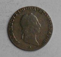 Rakousko 3 Krejcar 1828 A František II.
