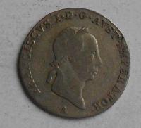 Rakousko 3 Krejcar 1829 A František II.