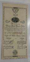 Rakousko 5 Gulden 1800