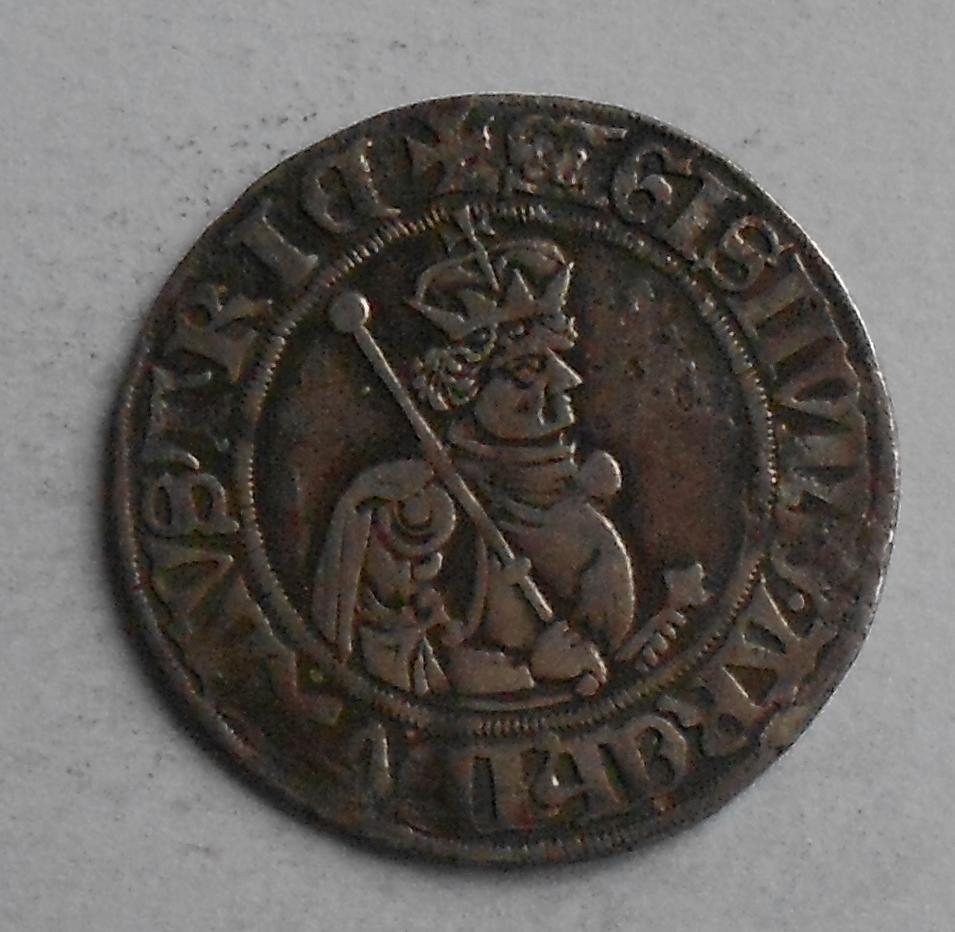 Rakousko Sechsling 1439-96 Zikmund