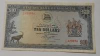 Rhodesie 10 Dollars 1976