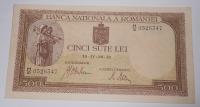 Rumunsko 500 Lei 1942