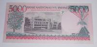 Rwanda 5000 Frank 1998