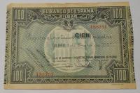 Španělsko 100 Peseta 1937