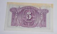 Španělsko 5 Peseta 1935