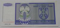Srbsko 10 mil. Dinár