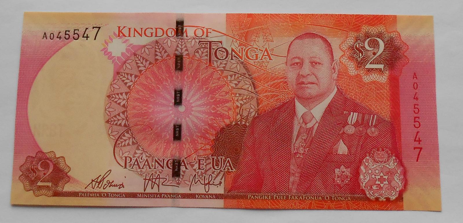 Tonga 2 Paanga, král