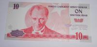 Turecko 10 Lirasi 1970