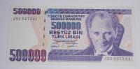 Turecko 500 000 Lira 1970