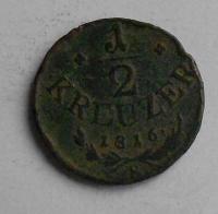 Uhry 1/2 Krejcar 1816 B František II.