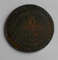 Uhry 3 Krejcar 1812 B František II., stav