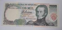 Venezuela 2000 Bolivares 1998