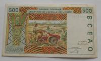 Východní Afrika 500 Frank, traktoritsta