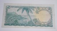Východní Karibik 5 Dollar Alžběta II.