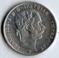 1/4 Zlatník/Gulden(1866-ražba V), stav 1/1-, velmi vzácná ražba