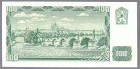 100Kčs/1961/, stav UNC, série G 71