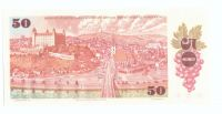 50Kčs/1987/, stav UNC, série F - široké sériové číslo