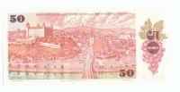 50Kčs/1987/, stav UNC, série F - úzké sériové číslo