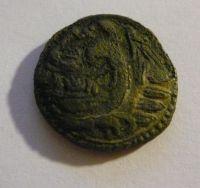 AE-20, Kassander, hlava Herakla,Řecko-Makedonie, 319-297 př.n.l.