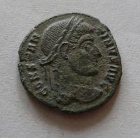 AE-3, Constantinus I., VOT-XX, S:3.773, Řím-císařství, 307-37
