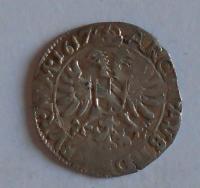 Čechy – Kutná Hora Bílý Groš 1617 Matyáš II.