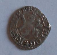 Čechy Malý Groš 1619 Matyáš II.