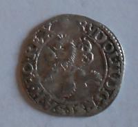 Čechy – Praha Malý Groš 1589 Rudolf II.
