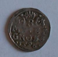 Čechy – Praha Malý Groš 1596 Rudolf II.