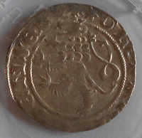 Čechy Pražský Groš 1346-78 Karel IV. stav