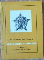 Československá vyznamenání VI. část a, II. národní odboj, V. Měřička a J. Kounovský