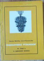 Československá vyznamenání VI. část b, II. národní odboj, V. Měřička a J. Kounovský