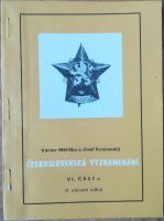 Československá vyznamenání VI. část c, II. národní odboj, V. Měřička a J. Kounovský