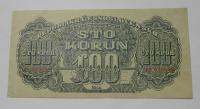 ČSR 100 Koruna 1944 KT perf