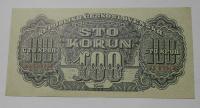 ČSR 100 Koruna 1944 KX perf