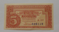 ČSR 5 Koruna 1948 A-157