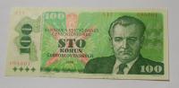 ČSSR 100 Koruna 1989 A-17