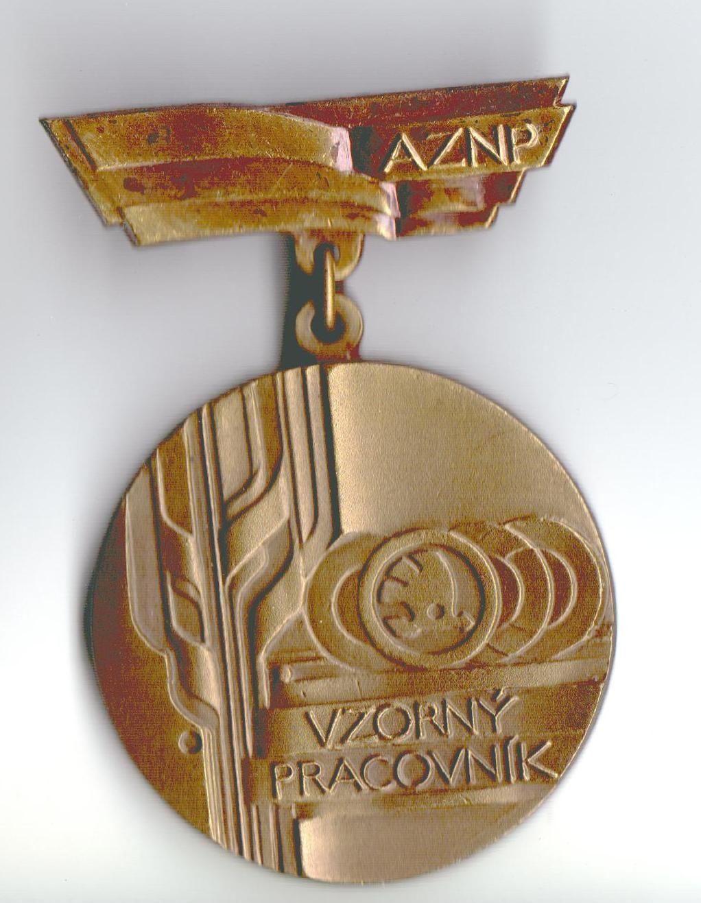 ČSSR - Vzorný pracovní AZNP Škoda, M. Boleslav