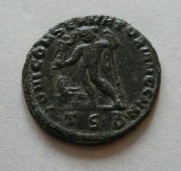Follis-23, Constantinus I., Jupiter, Řím-císařství, 307-37